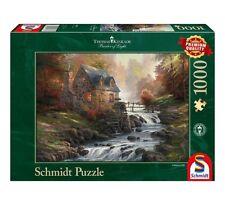 THOMAS KINKADE - BEI DER ALTEN MÜHLE - Schmidt Puzzle 57486 - 1000 Pcs.