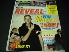 R.E.M. Rem Reveal 2001 Promo Poster Ad .little known facts about R.E.M. mint c