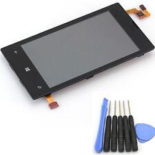 Neuf Noir Vitre tactile avec écran Complet LCD sur Chassis Pour Nokia Lumia 520
