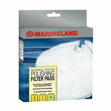 Marineland PA11480 C-160 & C-220 Canister Filter Polishing Filter Pads 2-Pack