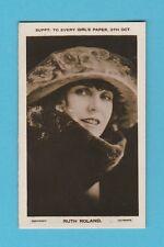 FILM  STARS  -  EVERY  GIRLS  PAPER  -  RUTH  ROLAND  -  1924