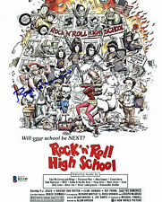 Roger Corman Rock n Roll High School Authentic Signed 8X10 Photo BAS #B51340