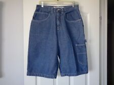 ANCHOR BLUE CARPENTER SHORTS 32 PRISTINE (31X14)