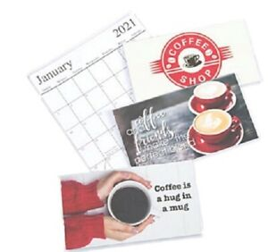 2020-2021 *Not 2021/22* Coffee 2 Year Planner Pocket Calendar *FREE SHIPPING*