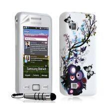 Housse coque etui gel pour Samsung Star 2 S5260 avec motif HF01 + Stylet