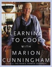 Learning to Cook with Marion Cunningham-ExLibrary
