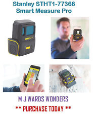 Stanley Stht1-77366 Smart Measure Pro - 1.8-137m Range - Bluetooth Connectivity