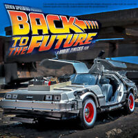 DeLorean BACK TO THE FUTURE Ⅲ Time Machine 1:24 Diecast Metal Model By Welly