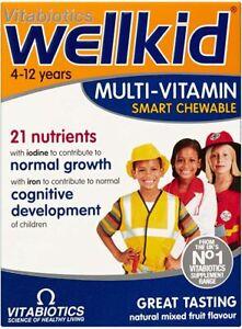 Vitabiotics Wellkid  30 Multi vit Chews - SALE £2 OFF Dated October 2021