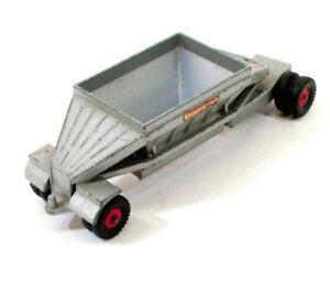 Matchbox No M4 Lesney England Freuhauf Hopper Trailer Vintage Toy Car H482