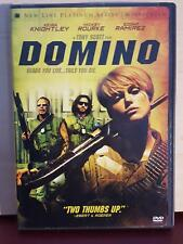 Domino - DVD - Region 1 - Keira Knightley - Mickey Rourke