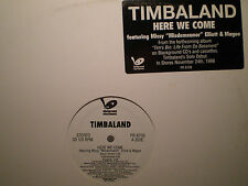 "TIMBALAND - HERE WE COME / REMIX (12"")  1998!!  RARE!!  MISSY ELLIOTT + MAGOO!!!"