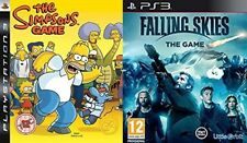 Los Simpsons Game Used & Falling Skies Nuevo y Sellado PS3 PAL