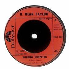 "R. Dean Taylor - Window Shopping - 7"" Vinyl Record Single"