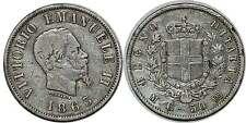 ITALIE 50 CENTESIMI 1863 M KM#4a.1