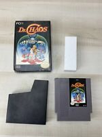 Dr. Chaos (Nintendo System, 1988) NES In Box No Manual Tested Working Authentic