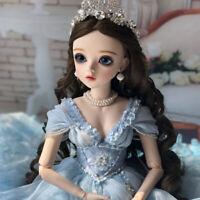 FULL SET 60cm BJD Doll Puppe 1/3 Hübsche Mädchen Puppen With Clothes Girl Toys