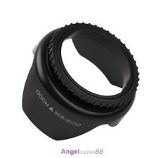 Professional Flower Shape Screw Mount Camera Lens Hood for Cannon(58mm)