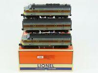 O Gauge 3-Rail Lionel 6-24534 EL Erie Lackawanna F3 A/B/A Diesel Loco Set w/TMCC