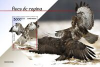 Guinea-Bissau Birds of Prey on Stamps 2020 MNH Buzzards Common Buzzard 1v S/S