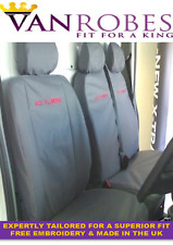 Renault Trafic Van (2001-2014). Tailored Seat Covers. With Free Embroidery.