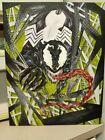 Venom art. Painting on canvas. Original.