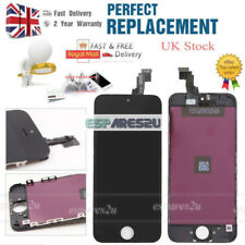 For iPhone 5C LCD Display & Touch Digitizer Screen Frame Replacement Black UK
