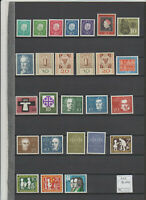 BRD Michel 302-325 (Jahrgang 1959 kpl. incl. Block 2), Lot postfrisch (MNH)