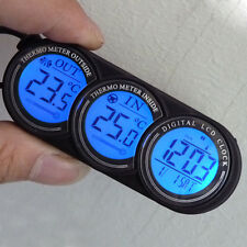 Multi-function Car Auto Vehicle In/Out LCD Thermometer Backlight Calendar Clock