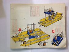 MECCANO INSTRUCTION MONTAGE 5.1 FERRY BOAT NOTICE MANUEL