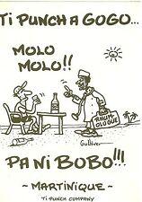 Illustrateur Gulliver - Martinique - Ti Punch à Gogo... Molo Molo .......