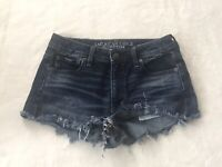 American Eagle Outfitters •4• Vintage Hi Rise Festival Jean Shorts Ripped