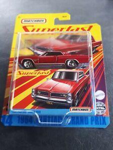 Matchbox 1964 Pontiac Grand Prix Superfast New 2020