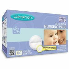 Lansinoh Disposable Nursing Pads 100 Ct Breastfeeding Breast Care Baby New