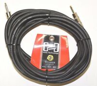 """Hosa - SKJ-425 - 25' Foot 14 AWG 1/4"""" TS to 1/4"""" TS Speaker Cable"""