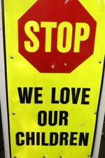 """Step-N-Lock Traffix Devices """"Stop We Love Our Children"""""""