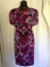 Millers Polyester Floral Plus Size Dresses for Women
