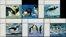 2001 ROSS DEPENDENCY Penguins (6) MNH