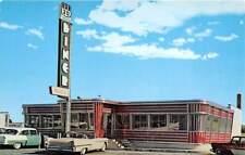 LANCASTER, PA, HART'S US 30 DINER, CARS, QUANTITY PUB CHROME ADV PC, c 1960's