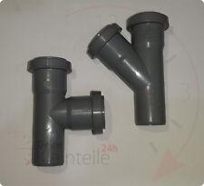 HT Abzweig Wasser Abwasser Rohr PVC Abflussrohr Installation DN 32 40 50 75 110