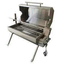Flaming Coals Dual Fuel Spit Roaster - SPG1000-Deluxe