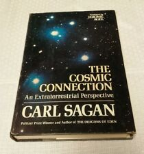 "Vtg 1973 ""The Cosmic Connection; An Extraterrestrial Perspective By Carl Sagan"
