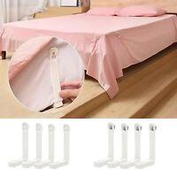 4Pcs Bed Sheet Fastener Mattress Cover Gripper Clip Fastener Grip Peg Holder