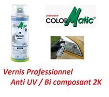 VERNIS 2K SPECIAL ANTI UV APRES RENOVATION OPTIQUE DE PHARE PRO Bimota