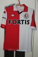 Feyenoord Rotterdam 2008 2009 Kappa Home Shirt Jersey Trikot Soccer Size XL