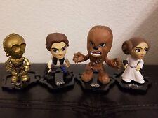 Funko Star Wars Mystery Mini Chewbacca C3PO Han Solo Princess Leia Set of 4