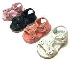 Newborn Baby Girl Soft Sole Crib Shoes Infant Toddler Summer Sandals with Lights