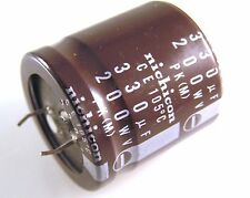 Nichicon Electrolytic Capacitor 200V 330uF 105'C Snap In D30 X L31mm 4pcs OL0634
