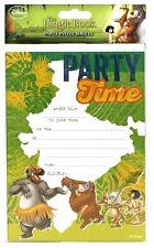 Disney THE JUNGLE BOOK INVITATIONS 20 Sheets inc Envelopes Invites Boys Girls