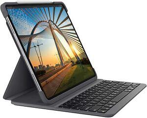 """Logitech Slim Folio Case Backlit Keyboard iPad Pro 11"""" 2020 2nd Gen 920-009670"""